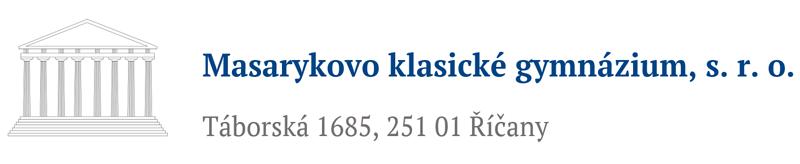 Masarykovo klasické gymnázium Říčany